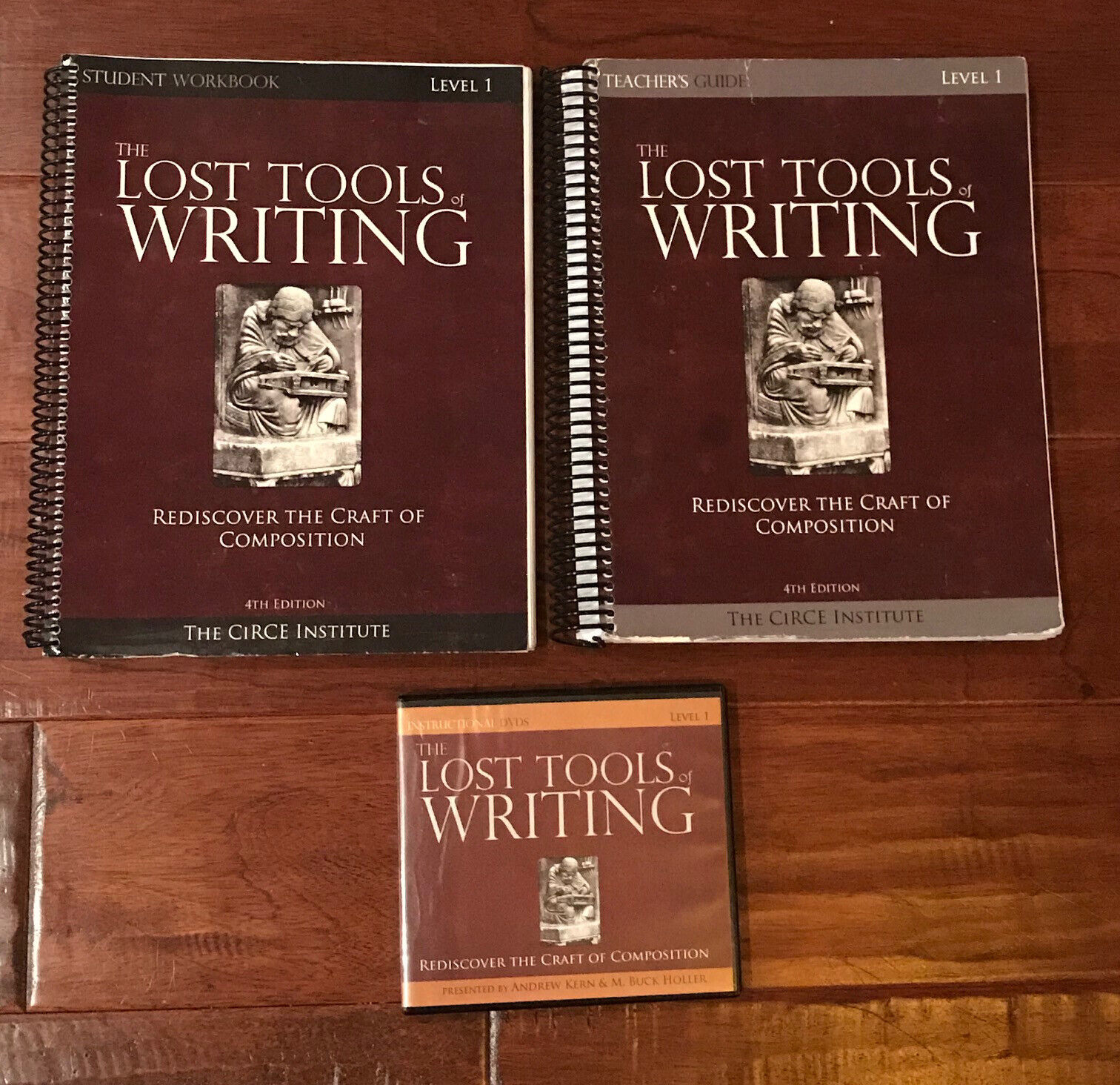 The Lost Tools Of Writing Level One - Student s Workbook, Teacher s Guide DVDs - $59.95