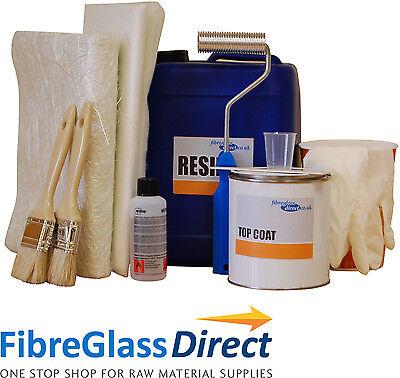 White 2 square metre Fibreglass / GRP Pond Kit