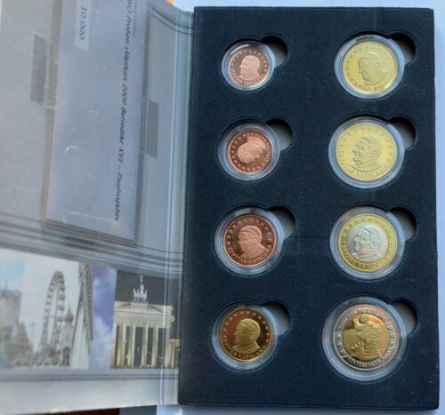 Pattern Euro set 2005 Vatican City, Pope Benedict XVI, COA