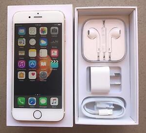 iPhone 6, Gold 64gb (serial # fdmqm2gbg5mv) Ballajura Swan Area Preview