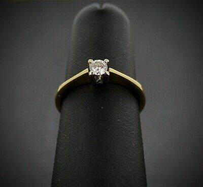 (Wi1) 18ct Diamond Solitaire Ring 2.7gms 2004725-1-A