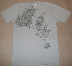 GNARLS BARKLEY LINE ARTS CRAZY LIVE SEXY T-SHIRT (SMALL) -- NEW