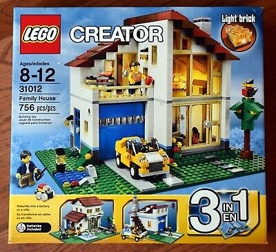 LEGO 31012 Creator Family House NEW NIB FACTORY SEALED RETIRED