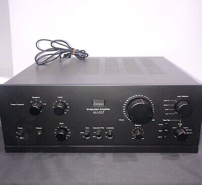 Sansui AU-517 Vintage Integrated Amplifier TESTED WORKS HiFi 37 LBS Heavy