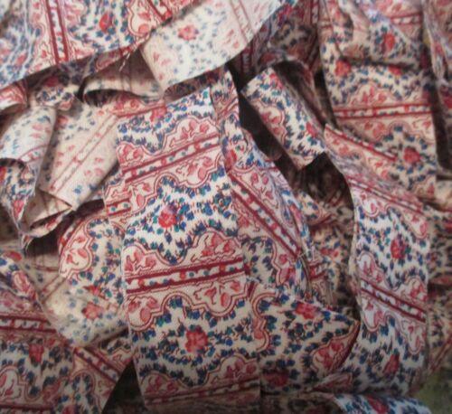 Rag Rug Yarn Precut Fabric Strips Toothbrush Amish Knot Braided Crochet 23 yd P