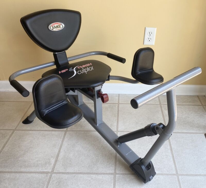 BODY BY JAKE - HIP & THIGH SCULPTOR - EXERCISE MACHINE with DVD - BEAUTIFUL
