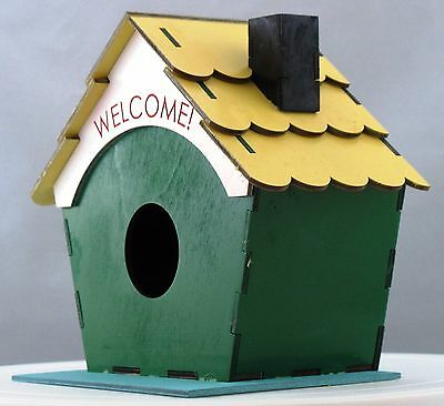 Welcome Home Bird House Kit