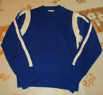 Vtg.Cheerleader Supply Bensalem OWLS Cheerleader Sweater - Size 38  - Cheerleader Supplies