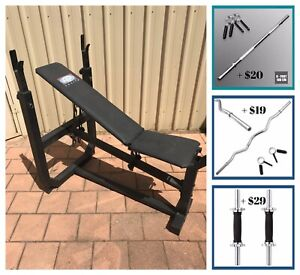 Heavy Duty Adjustable Height Weight / Gym Bench Press