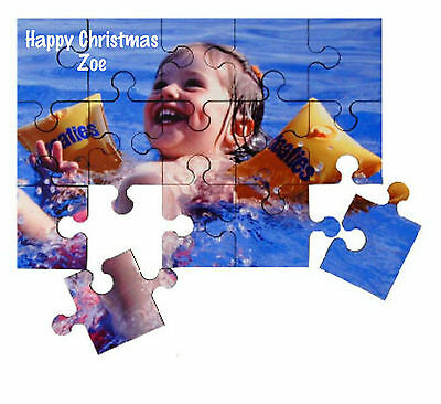 - Personalised Child's Wooden Jigsaw Puzzle Add a Photo/Name/Message Lovely GIFT