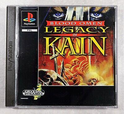 Legacy of Kain Blood Omen. Playstation 1  PS1. PSOne. Black Label