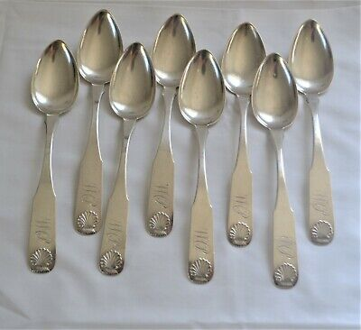 Twist by Barrett /& Sherwood Sterling Silver Preserve Spoon Gold Washed Shell 7