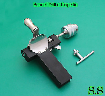 Bunnell Drill Surgical Medical Orthopedic Instruments
