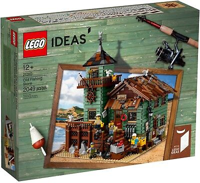 LEGO 21310 Old Fishing Store Ideas captain fisherman fisherwoman seagull