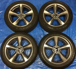 """2016 Ford Mustang 18"""" Wheels & Winter Tires *Perfect Cond.*"""