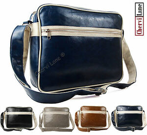 Quality-Mens-Womens-Boys-College-School-Laptop-Satchel-Messenger-Shoulder-Bag