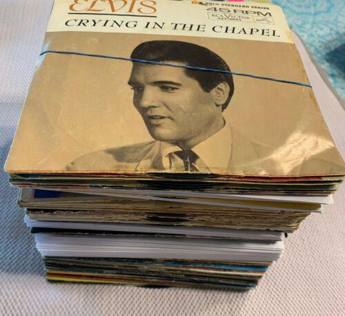 Elvis Presley Hoard (ESTATE SALE)  77 Total  Original 45RPM & EPA Records