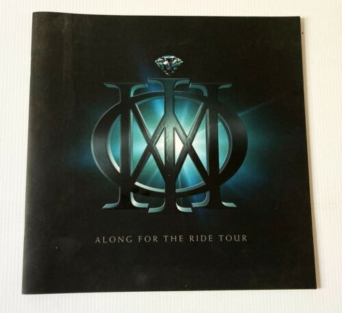 Original Dream Theater ALONG FOR THE RIDE tour programme 2014