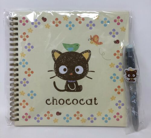 Sanrio Chococat No Line Notebook & 2-Way Writer Set