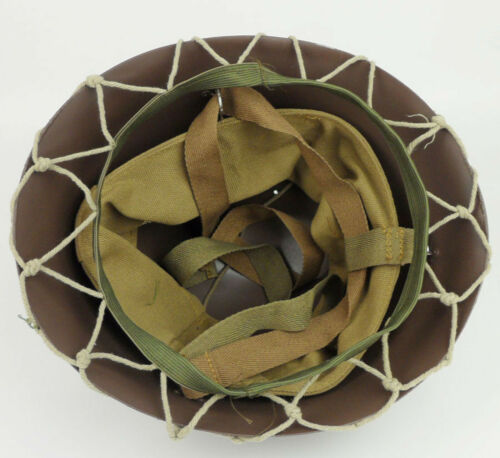 WWII Japanese Army Type 90 Steel Helmet with Net Cover