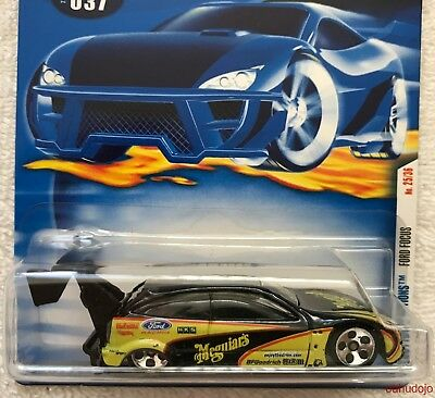 1:64 Hot Wheels 28770 FORD FOCUS First Editions #25 of 36 2001 01