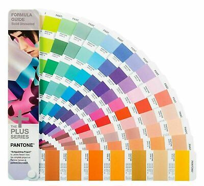 New Pantone Plus Series Formula Guide Solid Uncoated Only Gp1601n 112 Color