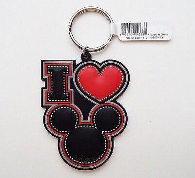 Disney - Mickey Mouse - I Love Mickey Too Lasercut Keychain/Keyring