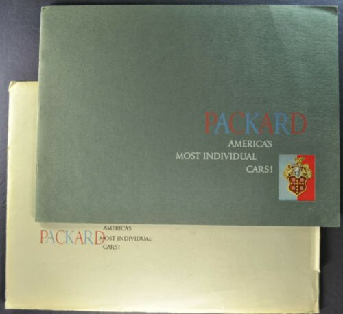 1953 Packard Prestige Brochure+Env Patrician Mayfair Cavalier Limo Original 53