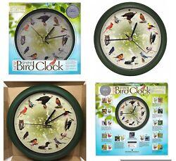 Limited Edition 20th Anniversary 8 inch Singing Bird Wall Clock