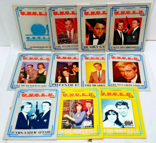1980s Man from UNCLE Files Episode Guide Book Collection- Your Choice of 12
