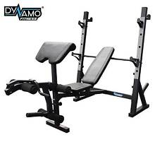 NEW! REEPLEX DELUXE HEAVY DUTY WEIGHT BENCH / SQUAT RACK Malaga Swan Area Preview