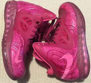 Nike air max hyperposite RASPBERRY RED US10 basketball shoes Adelaide CBD Adelaide City Preview