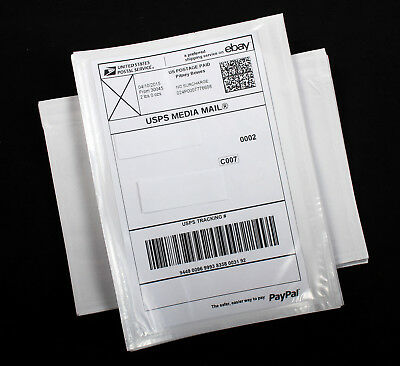 100 Shipping Label Pouches Sleeves Envelopes Packing List 5.5 X 7 Free Ship