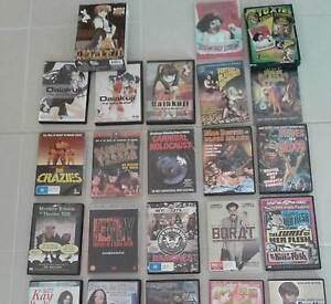 Horror, anime, B-movie DVD's for sale Wallan Mitchell Area Preview