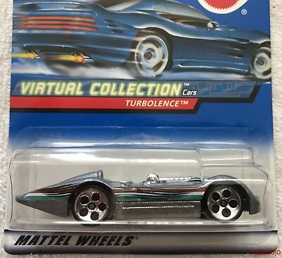 1:64 Hot Wheels 27096 TURBOLENCE Collector Number 129 2000 00 Virtual Collection