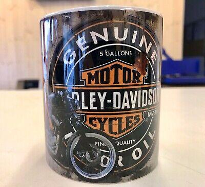 Harley-Davidson Retro Mug Design, 11oz, Dishwasher Safe.