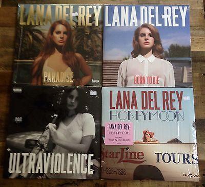 Usado, Lana Del Rey- Honeymoon, Ultraviolence, Born To Die, Paradise Vinyl LP NEW 4 SET comprar usado  Enviando para Brazil