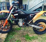 Ktm 08 530exc $8600 or swaps 4x4 road bike cr500 450 supra ect Anna Bay Port Stephens Area Preview