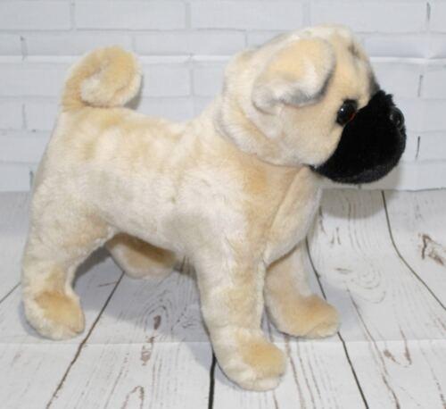 "Douglas Russo PUG 14"" Plush Dog Pup NEW"