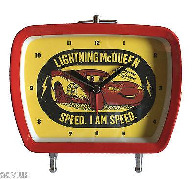 Disney Pixar CARS Lightning McQueen Kids Boys Bed Room Alarm Clock