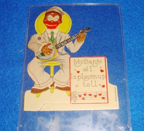 Vintage Valentine Card Made in Germany