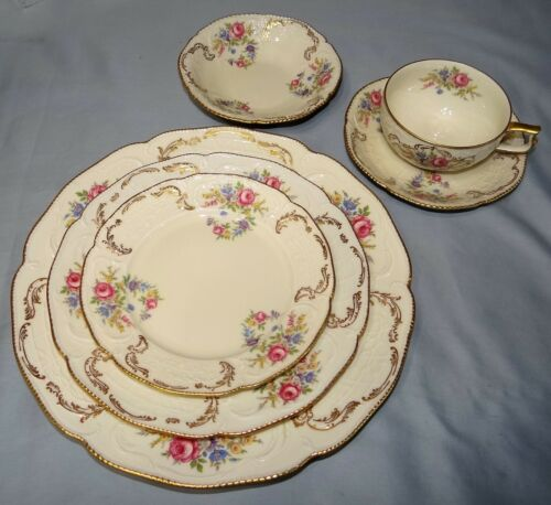 (4) 6-Piece Place Settings of Sanssouci Rosenthal HEIRLOOM China Germany NICE!!