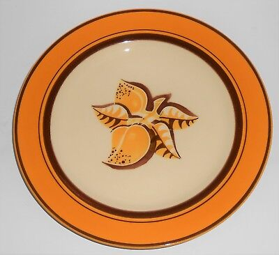 Franciscan Pottery Early Mango Dinner Plate