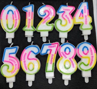 s, Geburstag, Tortenkerze Höhe 80 mm Ziffern 0 bis 9 Auswahl (Kerze Zahlen)