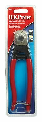 Hk Porter 0690tn 7-12 Pocket Wire Rope Cable Cutter