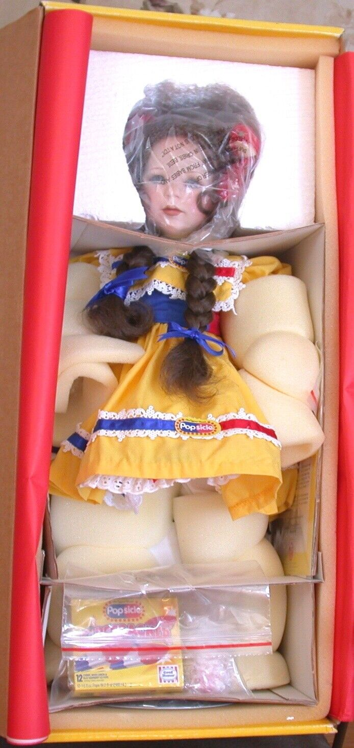NIB JEANNE SINGER 21in POLLY 75th ANNIVERSARY POPSICLE DOLL 1998 CLOSED LTD. ED - $34.99