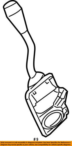 Ford Oem Steering Column Transmission Shift Lever 8w1z7210ab