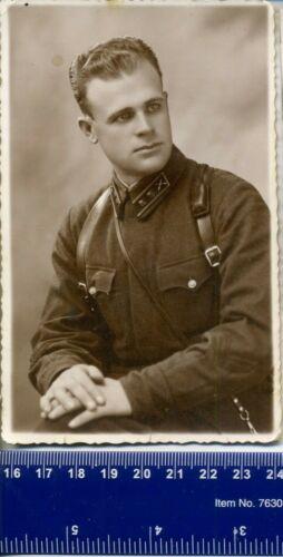 WW 2 War Hero Badge Order USSR Photo officer uniform 1939