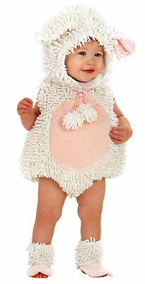 Mary Little Lamb Costume (Laura The Lamb Toddler Costume Mary Had A Little Baby Infant Sheep)