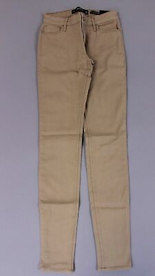 Hollister Woman's Low Rise Super Skinny Pants SV3 Tan Size 25 NWT